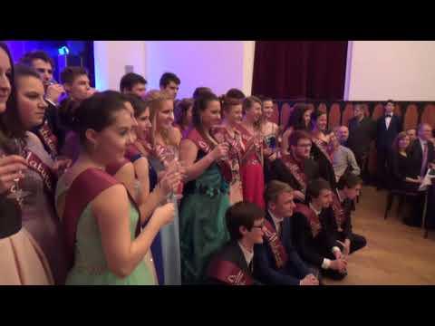Maturitní ples GFPVM 2017
