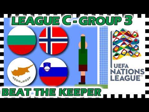 Marble Race - UEFA Nations League 2018/19 Prediction - League C - Group 3 - Algodoo