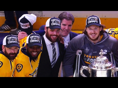 Gotta See It: Predators don't touch Clarence S. Campbell Bowl
