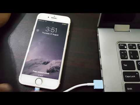 Share internet from iPhone 5, 6, 6s, 7, 7 Plus to PC with USB Cable