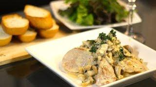 KENSキッチン第5弾豚ヒレ肉のクリームソース