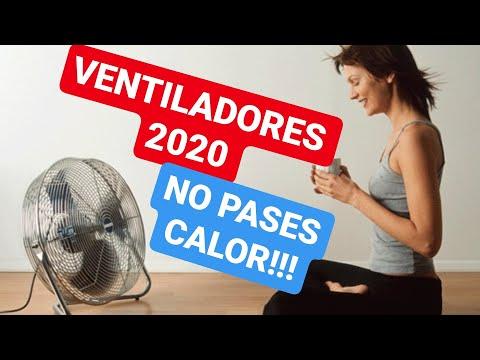 Ventiladores de pie silenciosos y baratos 2020| no pases calor!!