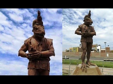 Perù Il mistero della Statua rettiliana