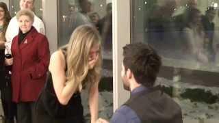 Best Surprise Proposal at Nursing School Graduation (Jason Derulo - Marry Me)