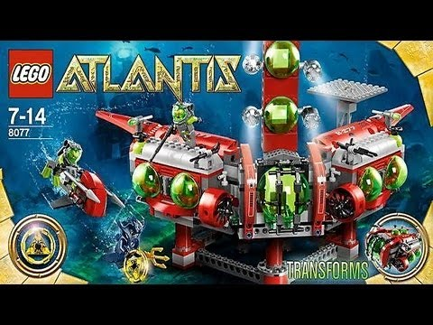 Vidéo LEGO Atlantis 8077 : Le QG d'exploration Atlantis
