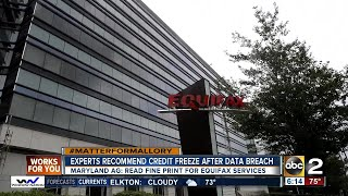 Experts recommend freezing credit following Equifax data breach