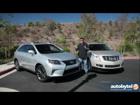 Cadillac SRX vs. Lexus RX350 F-Sport Comparison Video