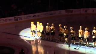 2015-16 P-Bruins Opening Night Team Introduction 10.9.2015