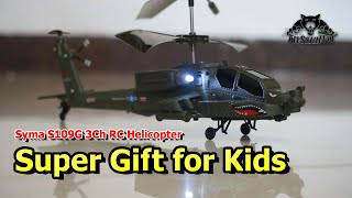 Syma S109G Mini 3Ch AH-64 Apache RC Helicopter