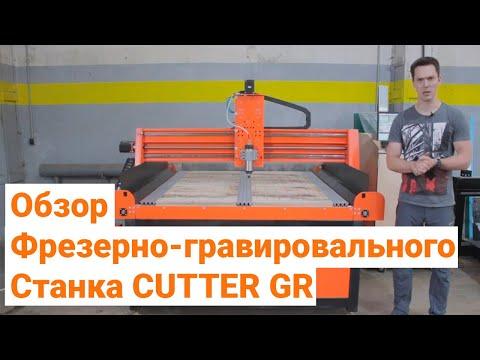 Фрезерно-гравировальный станок Cutter GR