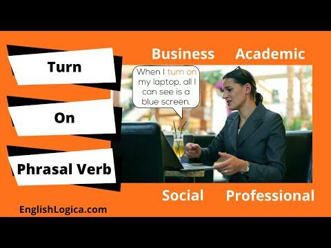 Turn On Phrasal Verb