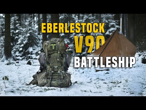 Eberlestock V90 Battleship Rucksack 100L Loadout – Testbericht Gear Review