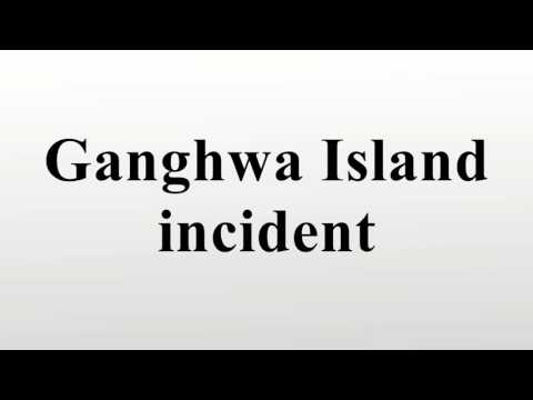 Ganghwa Island incident