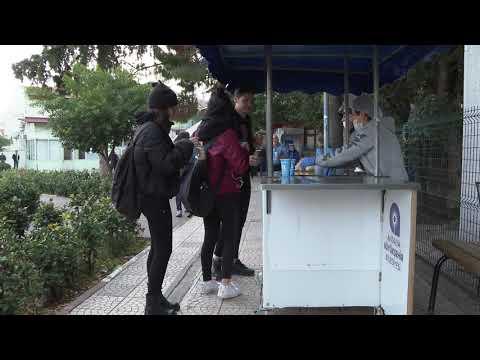Hastaya, çalışana, öğrenciye Büyükşehir'den çorba