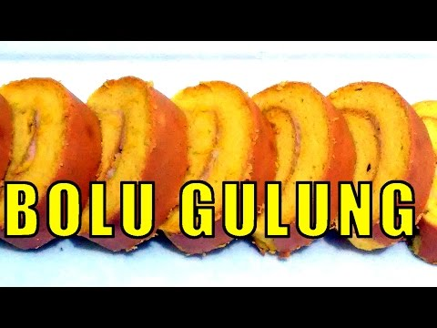Video Resep Bolu Gulung