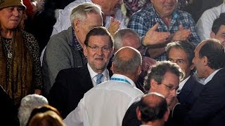 Teen Punches Spanish PM In Face