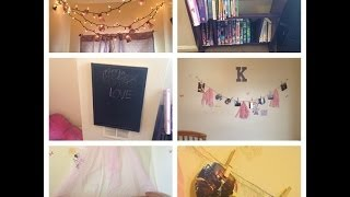 D.I.Y Room Decor For Little Girls/Room Tour