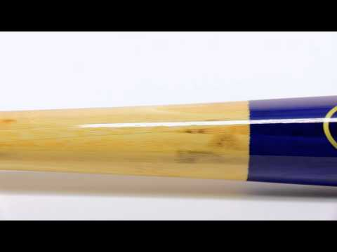 BamBooBat Bamboo Wood Bat: HNBUY Natural/Royal Youth