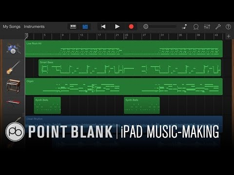 Making Music with an iPad