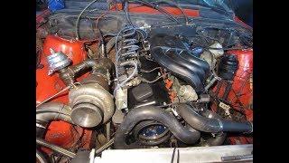 ДЖОРДЖ Бмв е34 поставил турбину. М20 2,0 240л.с. турбо.bmw