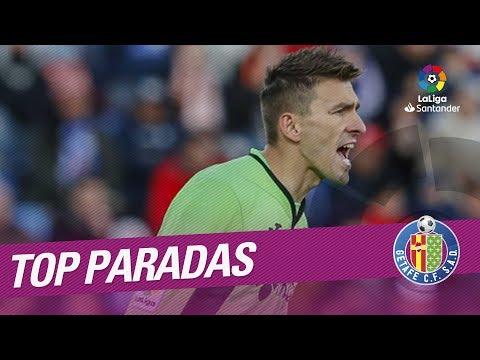 TOP Saves Getafe CF LaLiga Santander 2017/2018