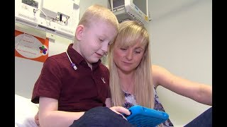 The seven year old who had five organs transplanted at the same time | ITV News