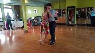 Argentine tango workshop:Maja Petrović & Marko Miljević - Giros and sacadas in close embrace