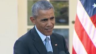 Obama to Trump: 'Stop Whining'