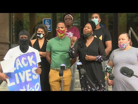 Community Justice Initiative press conference at City Hall over Daniel prude's death (full video) —