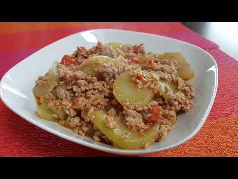 Special Sauteed Chayote Recipe