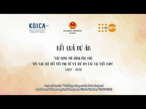 Xây dựng mô hình ứng phó với bạo lực đối với phụ nữ và trẻ em gái tại Việt Nam
