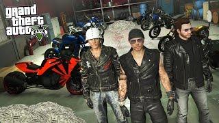 GTA 5 Biker Gang Life #1 - STARTING A BIKER GANG!! GTA 5 Biker DLC Update! (GTA 5 Bikers Gameplay)