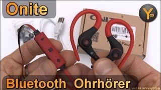 Kurztest: Onite Bluetooth In-Ear Ohrhörer / Wireless Sports Earphones / Kopfhörer