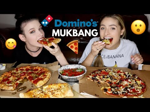 Domino S Pizza Mukbang Discussing Youtube Changes