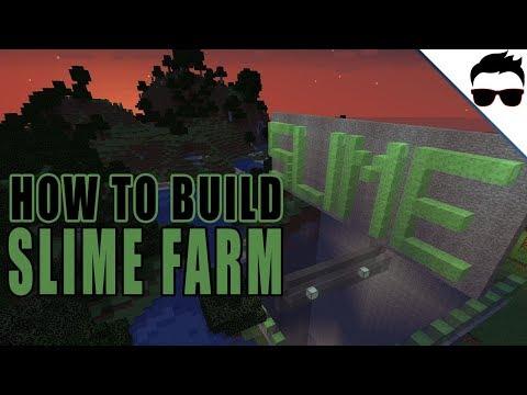 Minecraft - Slime Farm - Tutorial 1 13 - смотреть онлайн на
