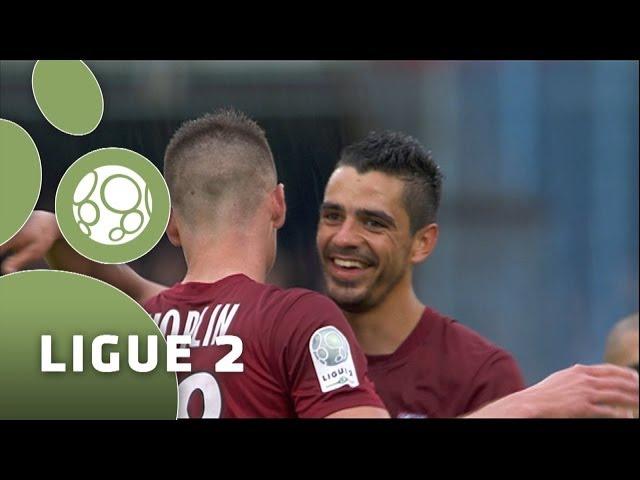 Aj Auxerre Fc Metz 3 26 04 14 Aja Fcm Resume