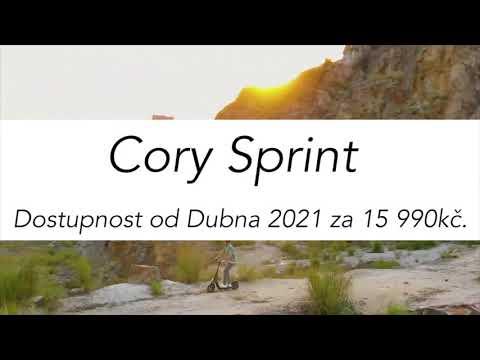 CORY Sprint elektromos roller, 450W-os motor, 16 Ah akkumulátor, 70-80 km hatótáv!