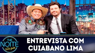 Entrevista com Cuiabano Lima  | The Noite (17/10/18)