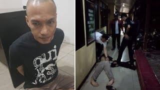Mapolsek Metro Penjaringan Diserang Pria Bersajam, Seorang Polisi Terluka