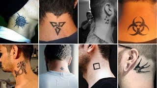 100 Simple & Cute Neck Tattoos For Men   Latest Neck Tattoos  Cool Neck Tattoos Designs & Ideas 2020