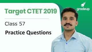 Target CTET 2019   Practice Questions   By Ajay Singh Kharb