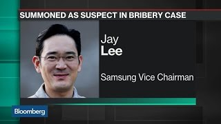 Samsung Heir Lee Named a Suspect in Korea Bribery Probe