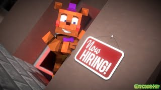 """""""Now Hiring at Freddy's"""" 