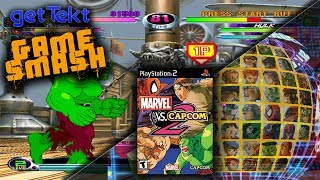 Marvel Vs. Capcom 2: gameSmash PlayStation 2 gameplay