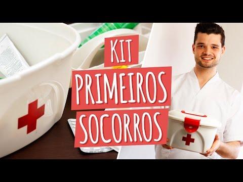 Imagem ilustrativa do vídeo: Como fazer KIT PRIMEIROS SOCORROS