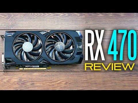 XFX RX 470 RS Black Edition - Full Review