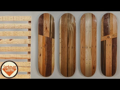 Making Skateboards Out of Old Pallets