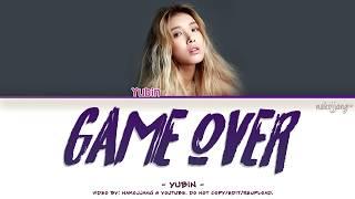 YUBIN (유빈) – GAME OVER (Color Coded Lyrics Eng/Rom/Han/가사)