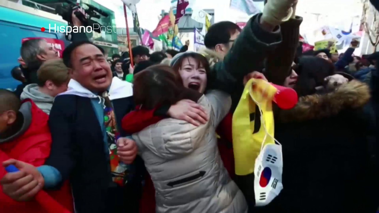Protestas por destitución de presidenta surcoreana dejan dos muertos