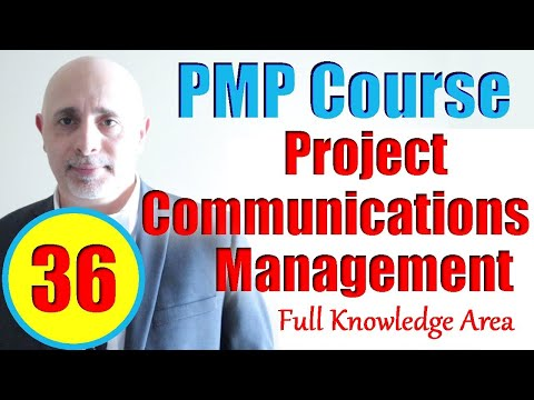 Project Communications Management | PMBOK6 | Full PMP Exam ...